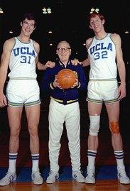 Swen Nater, John Wooden and Bill Walton