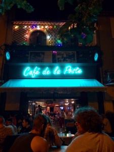 Cafe de la poste - night